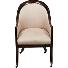A Regency Tub Chair