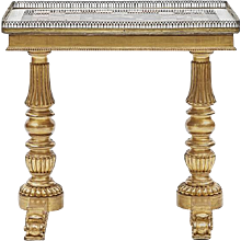 A Regency Specimen Table