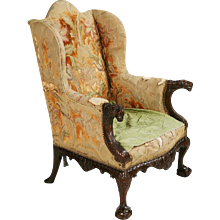 An Irish 18th Century Wing Chair