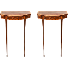 A Pair of Georgian Console Tables