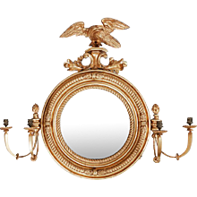 A 19th Century Convex Mirror