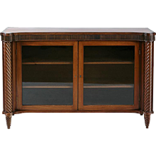 A Regency Two Door Cabinet