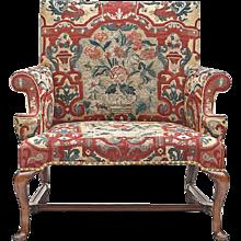 A Rare Queen Anne Love Seat