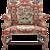 A Queen Anne Love Seat