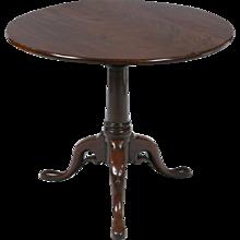A Georgian Tilt-top Table