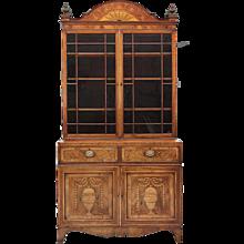 A Georgian Bookcase