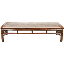 A Large Chinese Opium Table