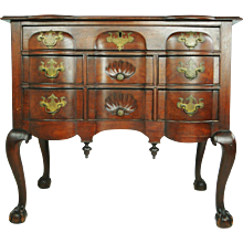 Block-front Dressing Table