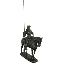 Duke of Orleans Equestrian Bronze