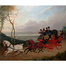 Oil Painting, Attributed to William Shayer