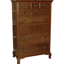 Walnut High Chest