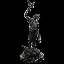 Arab Falconer Sculpture