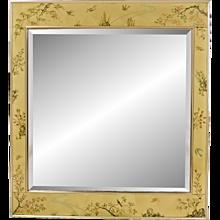 Vintage La Barge - LaBarge - églomisé Beveled Mirror - Artist Signed - K Widing 1985