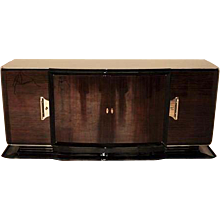 Big Palisander Sideboard from the Art Deco Era