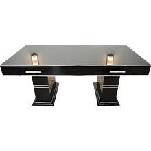 Bauhaus Desk in Highgloss Black