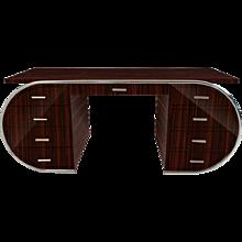 Art Deco Style Macassar Desk