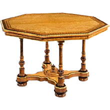An Hungarian-ash centre table