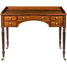 Mahogany dressing table attributed to Gillows of Lancaster (England, c. 1810)