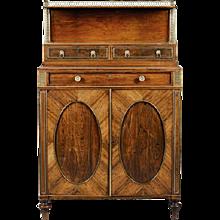 Regency side cabinet attributed to John Mclean