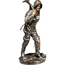 Bronze of a seaman