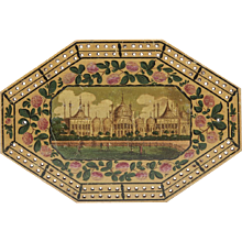 Georgian Brighton Pavilion Cribbage Board C.1800