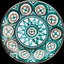 Robert Picault Vallauris Stunning Art Pottery Plate 1950's