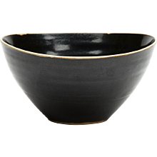 Lucie Rie & Hans Coper Studio Pottery Black Glazed Bowl