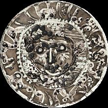Pablo Picasso Limited Edition Visage De Faune Tourmente Plate 1956