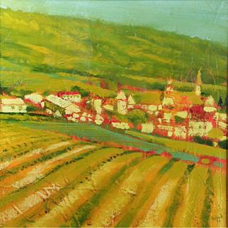 Christopher Wood RSW (British / Scottish b.1962) La Chartreuse de Valbonne (1991) Oil