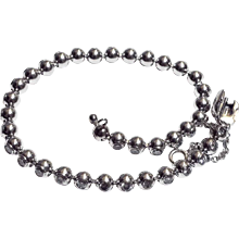 Cartier Tennis bracelet 18K white gold and diamonds set in balls