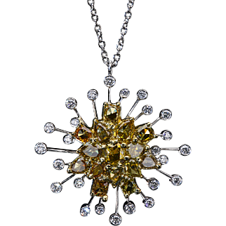 """Hypernova"" with caramel diamonds p7347"