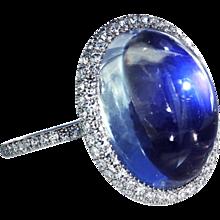 Burma Moonstone ring