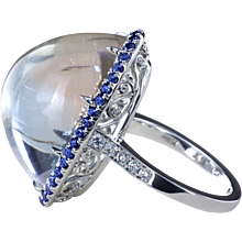 33.3 ct Lollipop™ halo ring