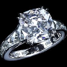 4.13 ct Mon Cheri™ ring