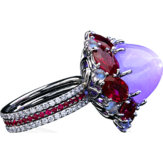 """""""The Star Of Exodus"""" sapphire ring"""
