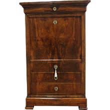 19th Century Antique French Louis Philippe Mahogany Secretaire