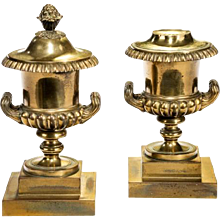 19th Century Urn Shaped Cassolettes