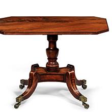 19th Century Mahogany Minature Table