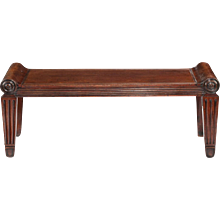 Regency hall bench