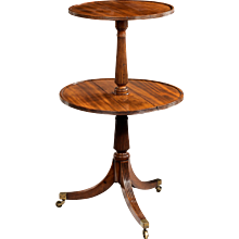 19th Century Mahogany Dumb Waiter