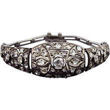 Art Deco Diamond Bracelet Circa 1925