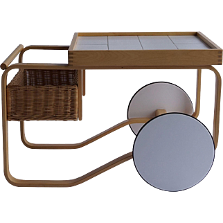 20th Century A. Aalto Tea Cart
