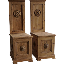 18th Century Cathedral Chairs