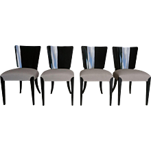20th Century Halabala Art Deco Chairs