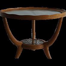 Mid-20th Century Italian Round Side Table