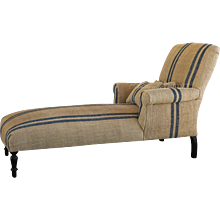 French Meridienne Sofa