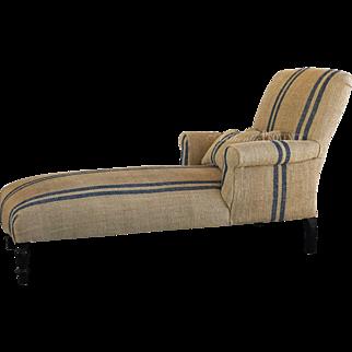 French Meridienne Sofa