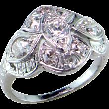 Art Deco Diamond 18K Ring