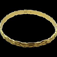 21K Gold Bangle Bracelets