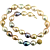 Freshwater Multi-Color Cultured Pearl Necklace